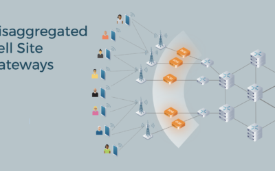 Disaggregated cell site gateways, ready for deployments