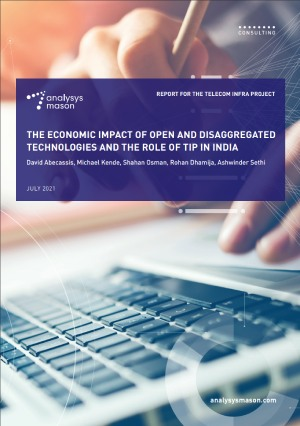 The Economic Impact of Open and Disaggregated Technologies and the Role of TIP in India