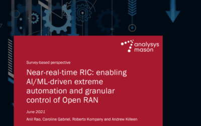 Near-real-time RIC: enabling AI/ML-driven extreme automation and granular control of Open RAN