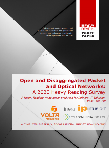 The Outlook for Open and Disaggregated Packet and Optical Networks