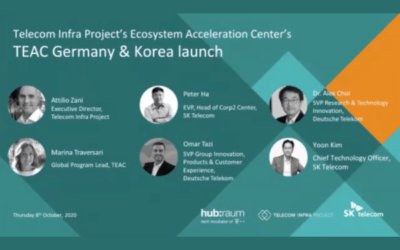 SK Telekom and Deutsche Telekom Select 10 Start Ups to Join TIP's Ecosystem Accelerator Centers (TEAC)